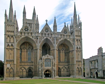 Exterior of Peterborough Cathedral